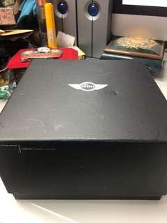 Mini Cooper watch box皮錶盒