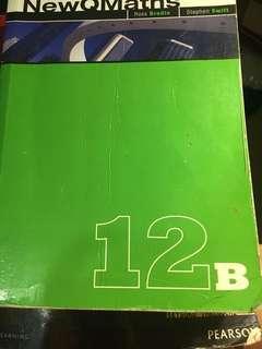 Year 12 maths B textbook