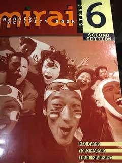 Japanese mirai 6 activity book