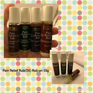 Creations Spa Pain Relief Rub(oil) Roll-on