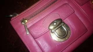 Marc Jacobs Pink Long Wallet