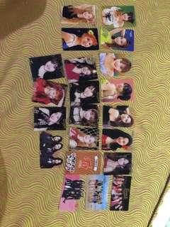 twice photocards from korea!