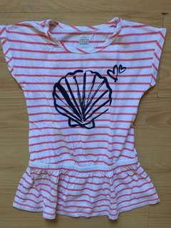 Old Navy striped top Size 5T