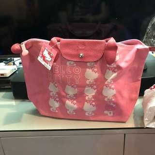 Longchamp inspired hello kitty bag