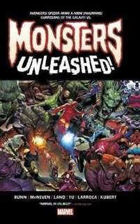 Monsters Unleashed: Monster-Size! (Extra-LARGE Hardcover)