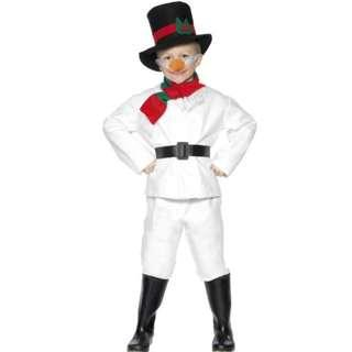 Smiffy's Child Snowman Costume for kids birthday christmas party
