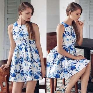 The Closet Lover TCL Colette Spring Florals Dress