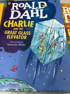 Roald Dahl:Charlie And The Great Glass Elevator