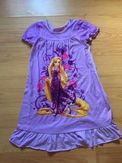 Disney Tangled nightgown Size 7-8