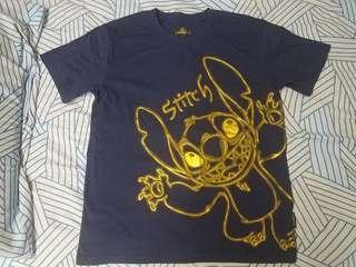 香港迪士尼 立體 史迪仔 T-shirt t恤 tee Stitch disneyland
