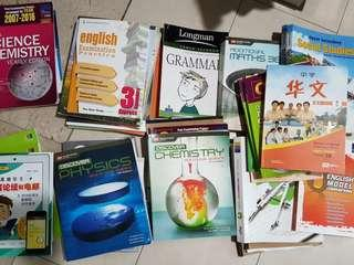 Secondary School and o level textbooks