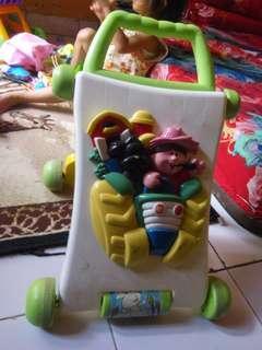 Baby walker 2 in 1