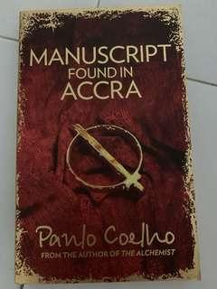🚚 Manuscript found in accra