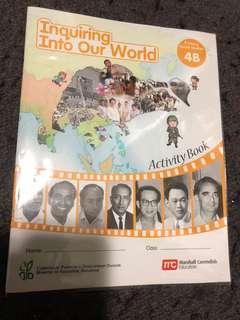 Inquiring into our world 4b activity book