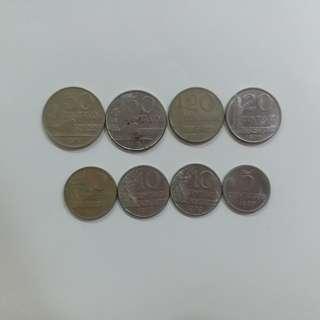 【錢幣收藏】巴西舊硬幣 Brasil old coins
