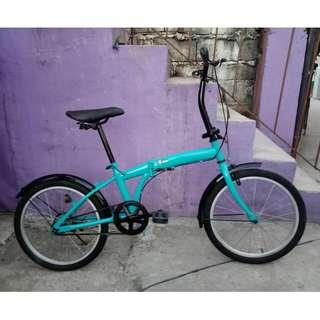 VILLE FOLDING BIKE (FREE DELIVERY AND NEGOTIABLE!)