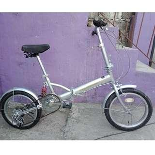 SUNFLOWER FOLDING BIKE (FREE DELIVERY AND NEGOTIABLE!)