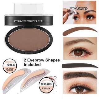 BROWN - Eyebrows Stamp (with 2 type of eye brows shape)