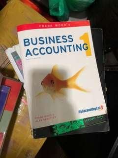 Business accounting 1 twelfths edition