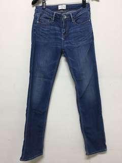 🚚 直筒深藍牛仔褲