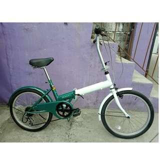 WELLNEXT FOLDING BIKE (FREE DELIVERY AND NEGOTIABLE!)