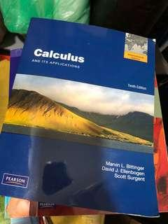 Calculus and its application tenth edition