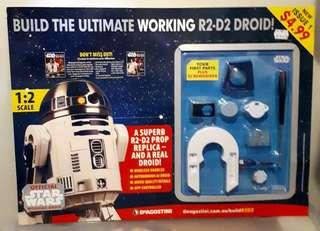 #1 Star Wars R2D2 DeAgostini 1:2 Working Droid Kit