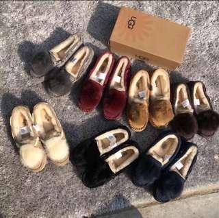 🚚 UGG 羊毛內裡刷毛雪靴娃娃鞋 36號可可色咖啡色