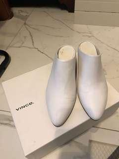 Vince leather heel
