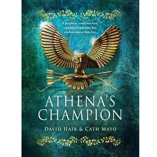 EBOOK: Athena's Champion by David Hair, Cath Mayo (Olympus Trilogy #1)