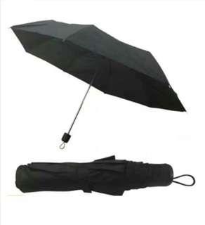 Black Umbrella Slim Fit Fashion Light weight Bag Pack Sale Easy Convenient Rainy season accessory