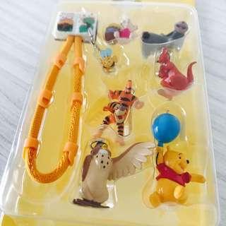🚚 維尼熊 吊飾 手機吊飾(全新品)