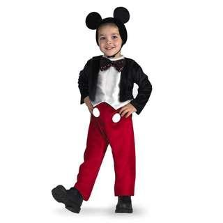 Cute Mickey Mouse Deluxe Costume for Kids Birthday Celebration parties