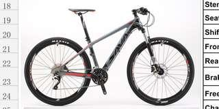 27.5 Carbon mountain bike SAVA