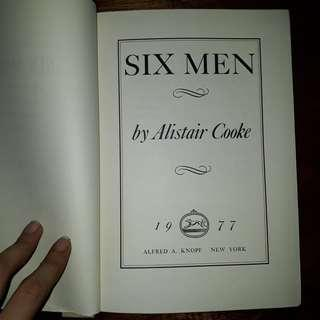 Six Men (Alistair Cooke)
