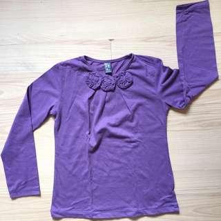 Zara Kids purple top Size 5-6yrs old