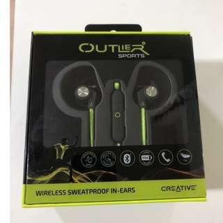 Creative Outlier Sports Sweat-proof Wireless In-ear Headphones