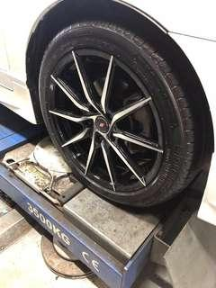 """17"""" Inforged Rims Only"""