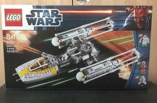 Lego Star Wars 9495 Gold Leader's Y Wing Star Fighter