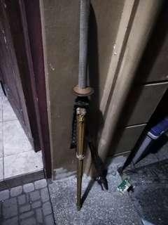 Kendo stick bamboo wood