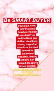 Be Smart Buyer ya Gaes :)