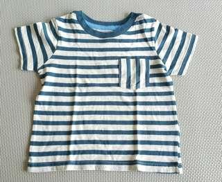 BNew Gingersnaps Striped Tshirt 2T