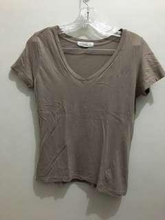 Forever 21 Shirt Brown