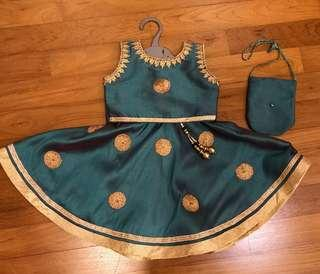 Indian Traditional Costume Toddler Girl