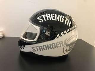 Speed & Strength Superbike/motorbike helmet