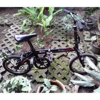 Sepeda Lipat Merk Laux