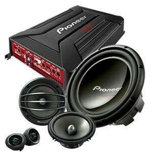 Paket audio pionner
