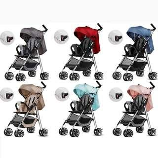 🚚 HOT SELLER!! Lightest Full Recline Stroller Pram