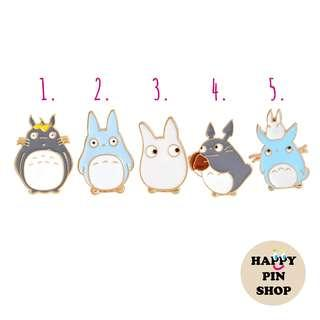 [AVAIL @ Cine] My Neighbor Totoro Enamel Pins
