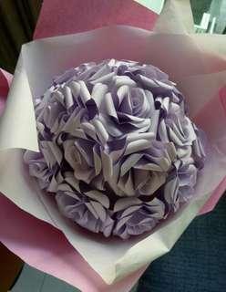 Handmade Paper rose bouquet